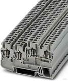 Phoenix Contact Initiator-/Aktorklemme 2,5qmm, grau STIO 2,5/3-2B/L