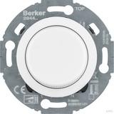 Berker Uni-Drehdimmer Z.-st.(LED) 1930/Glas, pw. 294410