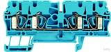 Weidmüller Durchgangsklemme 2,5qmm blau ZDU 2.5/4AN BL