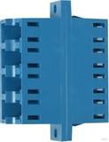 Telegärtner LC Quad Kupplung SM/MM Keramikh. blau J08071A0019