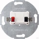 Merten Lautsprecher-Einsatz polarweiß (pws) 1-fach 466919