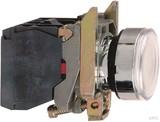 Schneider Electric Leuchtdrucktaster 1S1Ö cremeweiß (ws) LED-M. 24V XB4BW31B5