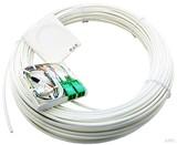 Acome FTTH-AP-Dose T1 mit Kabel 15m 1xLCD/APC reinweiß (rws) IO1140661823021502 (10 Stück)
