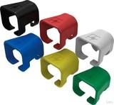 Telegärtner Farbmarkierungscl. schwarz RAL9011 B00081A0052 (100 Stück)