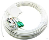 Acome FTTH-AP-Dose T1 mit Kabel 15m 2xLCD/APC reinweiß (rws) IO1140661823041502 (10 Stück)