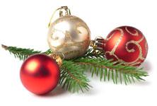 Weihnachten Zweige